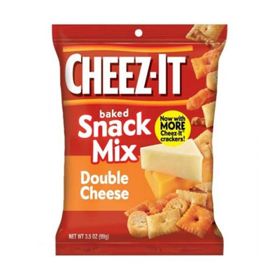 CHEEZ IT SNACK MIX DOUBLE CHEESE 99 gr - Jerry America