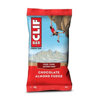 CLIF BAR CHOCOLATE ALMOND FUDGE - Barretta alla mandorla e cioccolato da 68gr