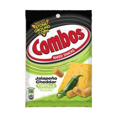COMBOS JALAPENO CHEDDAR TORTILLA CRACKERS 192 gr - Jerry America
