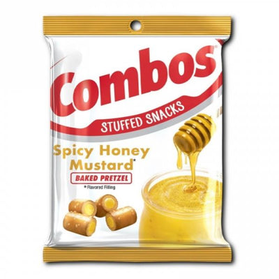 COMBOS SPICY HONEY MUSTARD BACKED PRETZEL 178 gr - Jerry America