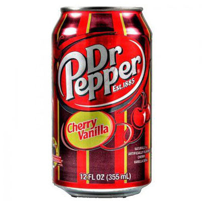 DR PEPPER CHERRY VANILLA SODA - Jerry America