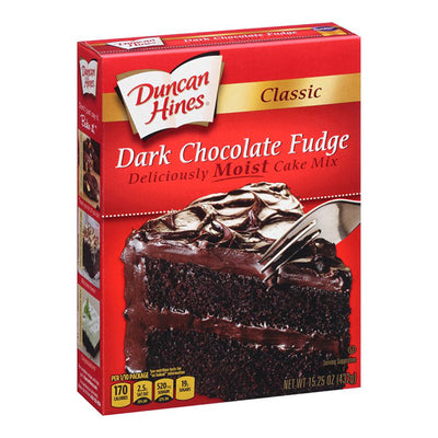 DUNCAN HINES CLASSIC DARK CHOCOLATE FUDGE - Jerry America