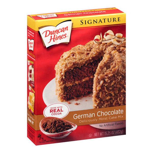 DUNCAN HINES GERMAN CHOCOLATE CAKE MIX - Jerry America