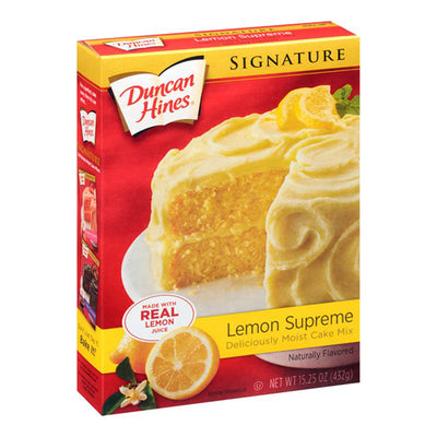 DUNCAN HINES LEMON SUPREME CAKE MIX - Jerry America