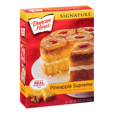 DUNCAN HINES PINEAPPLE CAKE MIX - Jerry America