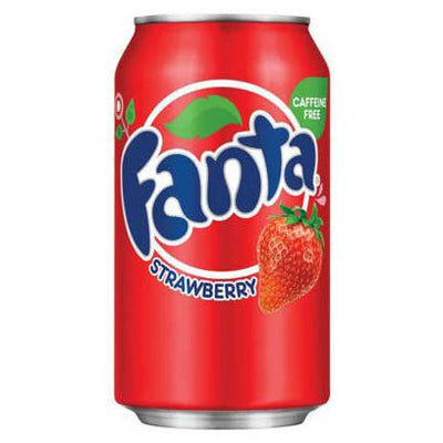 FANTA STRAWBERRY - Jerry America
