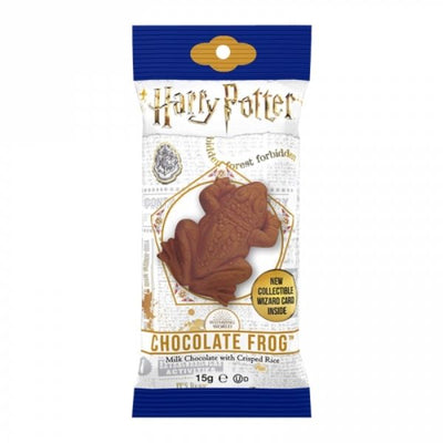 HARRY POTTER CHOCOLATE FROG - Barretta di cioccolato cioccorana da 15gr