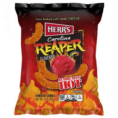 HERR'S CAROLINA REAPER FLAVOURED POTATO CHIP 29 gr - Jerry America