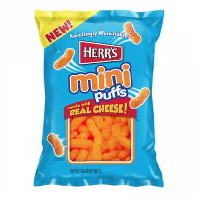 HERR'S MINI CHEESE PUFFS 170 gr - Jerry America