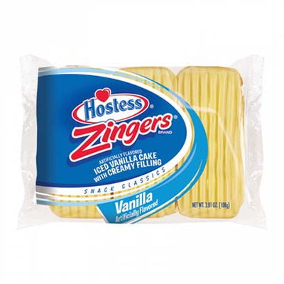 HOSTESS ZINGERS VANILLA 3 PACK - Jerry America