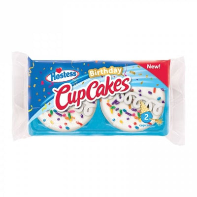 HOSTESS BIRTHDAY CUPCAKE 2 PACK