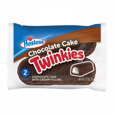 HOSTESS CHOCOLATE CAKE TWINKIES 2 PACK - Jerry America