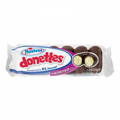 HOSTESS FROSTED DONETTES - Jerry America
