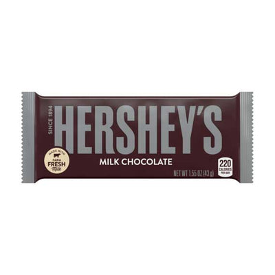 HERSHEY'S MILK CHOCOLATE BAR - Jerry America