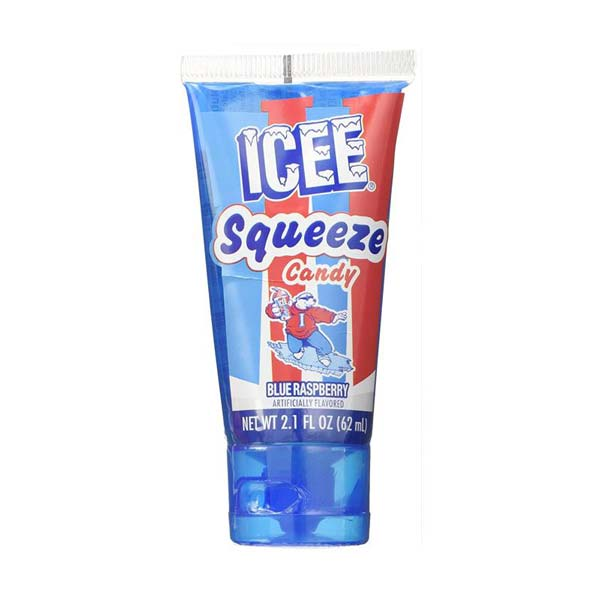 ICEE SQUEEZE CANDY BLUE RASPBERRY - Jerry America