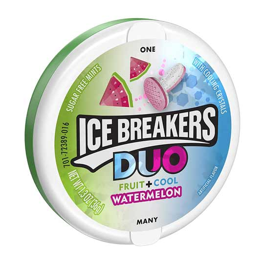 ICE BREAKERS DUO MENTA E ANGURIA - Jerry America