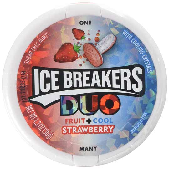 ICE BREAKERS DUO MENTE E FRAGOLA - Jerry America