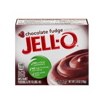 JELL-O CHOCOLATE FUDGE PUDDING - Preparato per budino al cioccolato