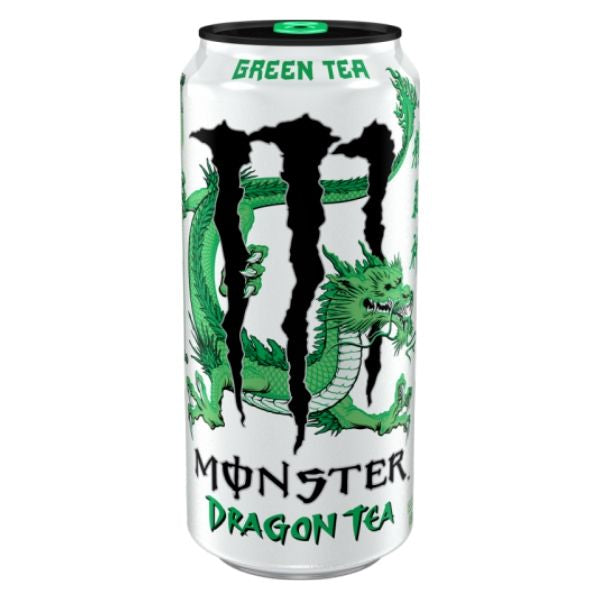 MONSTER DRAGON GREEN TEA 458 ml - Jerry America