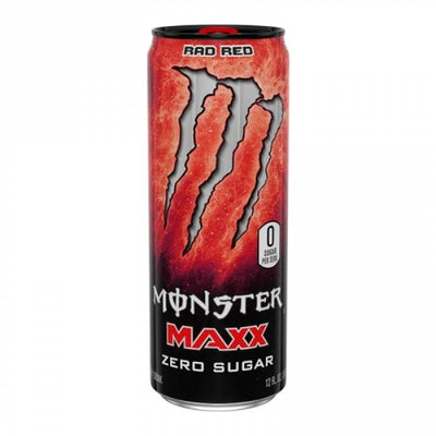 MONSTER MAXX RAD RED ZERO SUGAR 355 ml