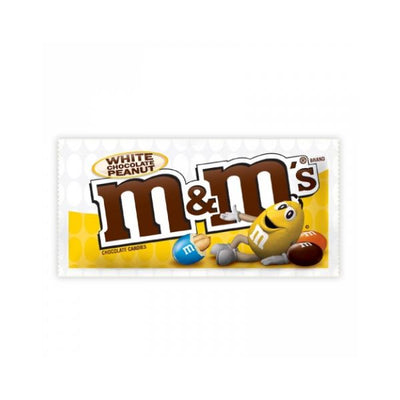 M&M WHITE CHOCOLATE PEANUT - Jerry America