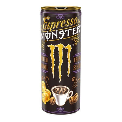 MONSTER ESPRESSO SALTED CARAMEL COFFEE - energy drink al caffè e caramello salato da 250 ml
