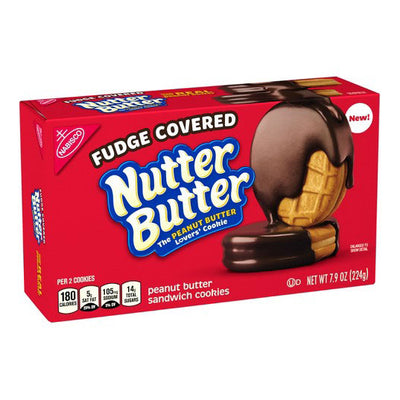 NUTTER BUTTER CHOCOLATE FUDGE - Jerry America
