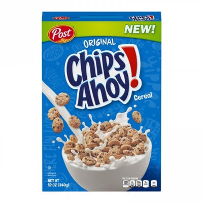 POST CHIPS AHOY! CEREAL - Cereali al gusto Chips Ahoy! da 340gr