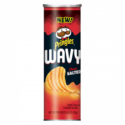 PRINGLES WAVY CLASSIC SALTED - Jerry America