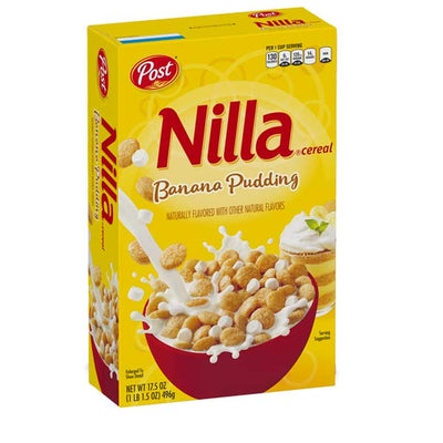POST NILLA BANANA PUDDING CEREAL - Jerry America
