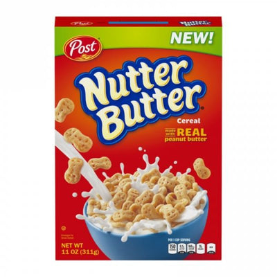 POST NUTTER BUTTER CEREAL - Jerry America