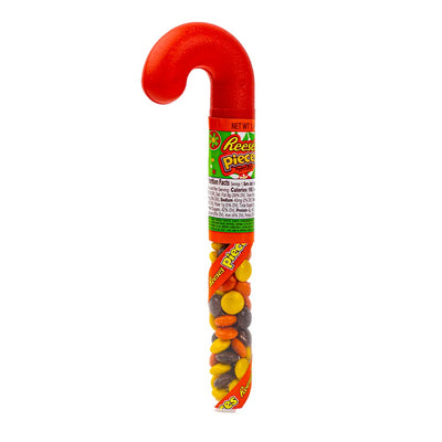 REESE'S PIECES HOLIDAY CANES - Cioccolatini al burro d'arachidi da 39 gr