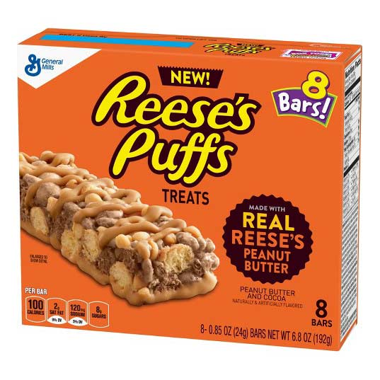 REESE'S PUFF TREAT BAR - Jerry America