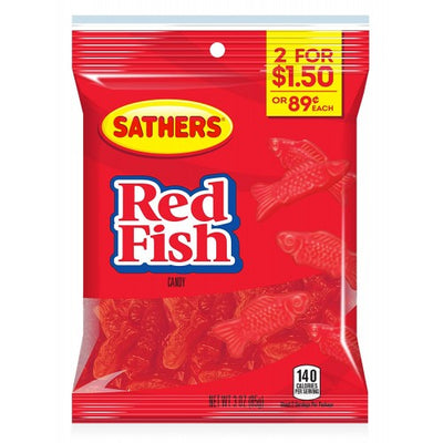 SATHERS RED FISH - Jerry America