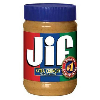 JIF EXTRA CRUNCHY PEANUT BUTTER 454 gr - Jerry America