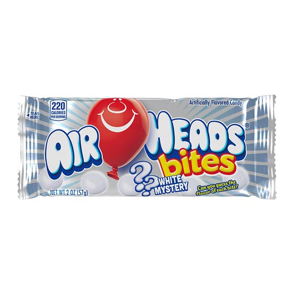 AIRHEADS BITES WHITE MYSTERY - Jerry America