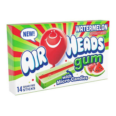 AIRHEADS WATERMELON CHEWING GUM 34 gr - Jerry America