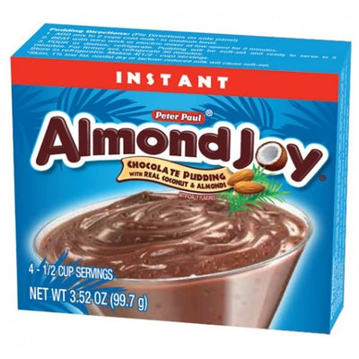 ALMOND JOY CHOCOLATE PUDDING - Jerry America