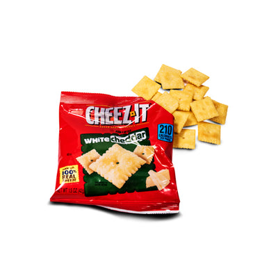 CHEEZ IT WHITE CHEDDAR 100% REAL CHEESE 42 gr - Jerry America