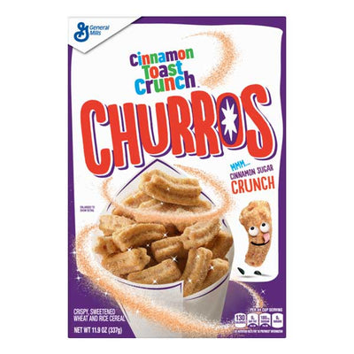 GENERAL MILLS CINNAMON TOAST CRUNCH CHURROS - Jerry America