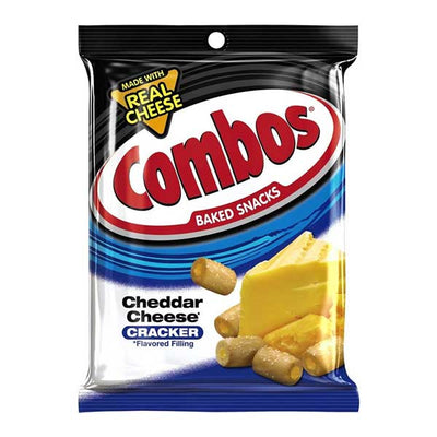 COMBOS CHEDDAR CRACKERS 192 gr - Jerry America