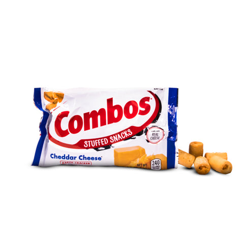 Image of COMBOS CHEDDAR CRACKERS 51 gr - Jerry America