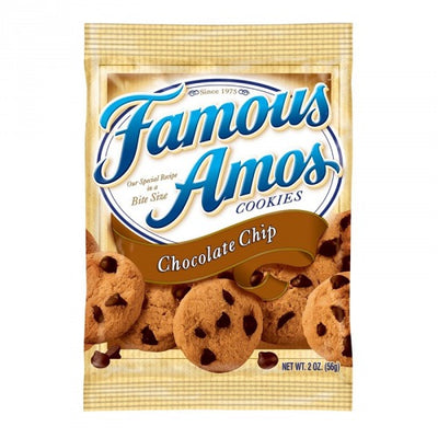 FAMOUS AMOS BITE SIZE CHOCOLATE CHIP COOKIES - Jerry America