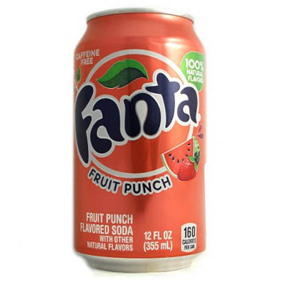 FANTA FRUIT PUNCH - Jerry America
