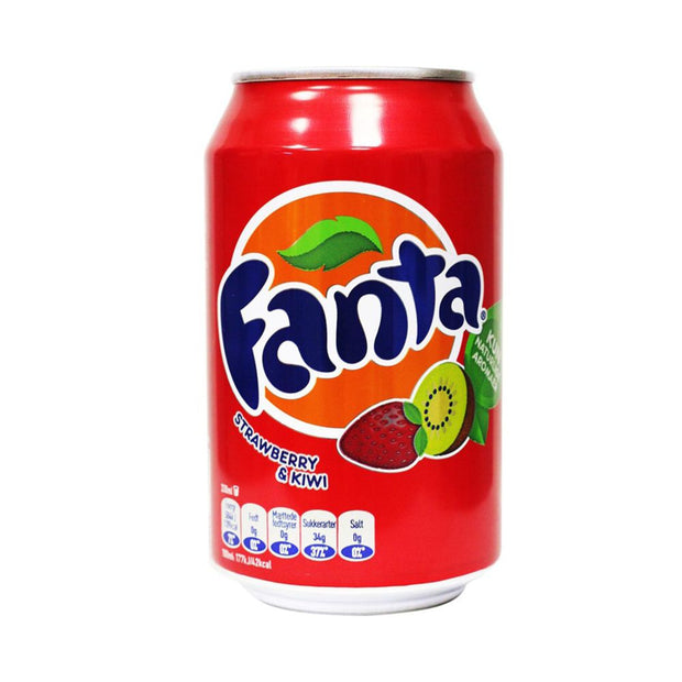 FANTA STRAWBERRY E KIWI - Jerry America