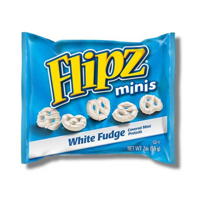 FLIPZ GRAB N GO MINI WHITE FUDGE PRETZEL - Jerry America