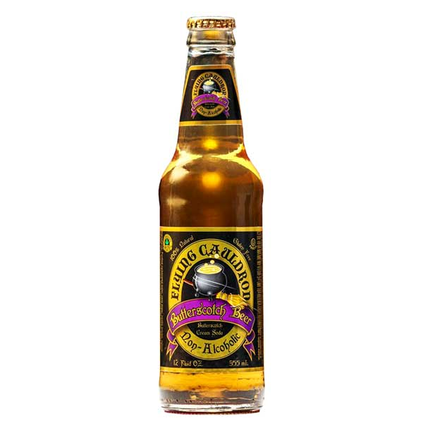 FLYING CAULDRON BUTTERSCOTCH BEER 355 ml - Jerry America