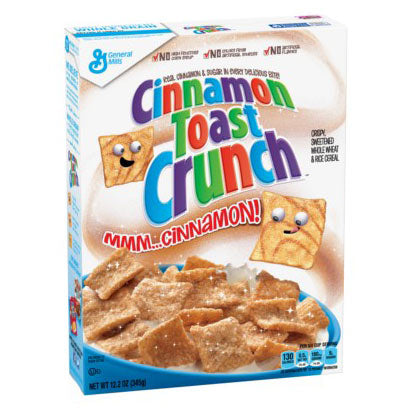 GENERAL MILLS CINNAMON TOAST CRUNCH - Jerry America