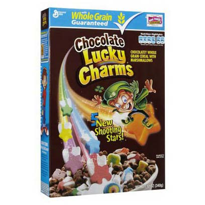 GENERAL MILLS LUCKY CHARMS AL CIOCCOLATO - Jerry America