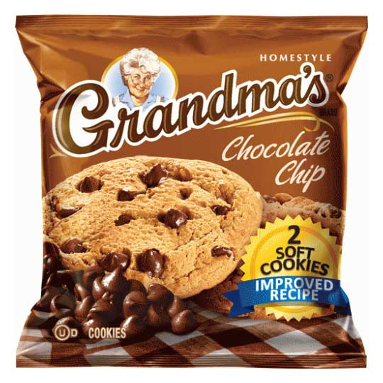 FRITO LAY GRANDMA'S COOKIES CHOCOLATE CHIP - Jerry America